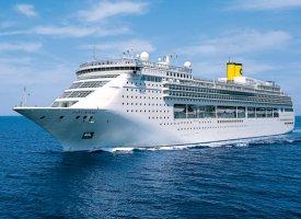 Морской круизный лайнер Victoria