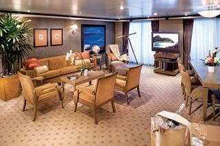 Морской круизный лайнер Seven Seas Voyager (Regent Seven Seas Cruises)