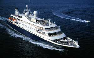 Морской круизный лайнер SeaDream I