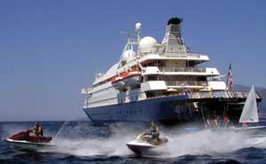 Морской круизный лайнер SeaDream II (SeaDream Yacht Club)