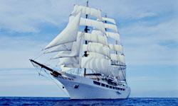 Морской круизный лайнер Sea Cloud II (Sea Cloud Cruises)