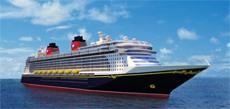 Морской круизный лайнер Disney Dream NEW SHIP 2011