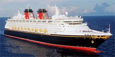Морской круизный лайнер Disney Wonder