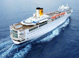 Морской круизный лайнер Allegra