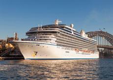 Морской круизный лайнер Marina