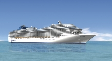 Морской круизный лайнер MSC Splendida