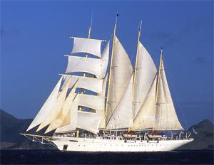 Морской круизный лайнер Star Clipper