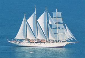 Морской круизный лайнер Star Flyer