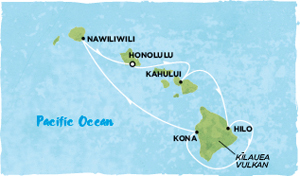 Карта морского круиза