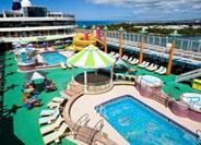 Морской круизный лайнер Norwegian Jade (Norwegian Cruise Line)