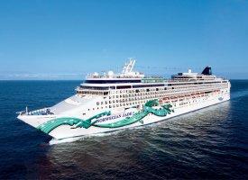 Морской круизный лайнер Norwegian Jade
