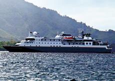 Морской круизный лайнер Silver Discoverer