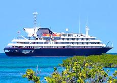 Морской круизный лайнер Silver Galapagos