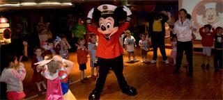 Морской круизный лайнер Disney Magic (Disney Cruise Line)
