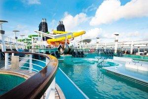 Морской круизный лайнер Norwegian Epic (Norwegian Cruise Line)