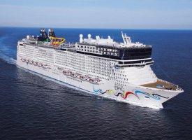 Морской круизный лайнер Norwegian Epic