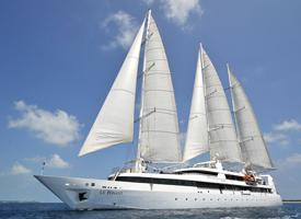 Морской круизный лайнер Le Ponant