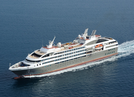 Морской круизный лайнер Le Boreal