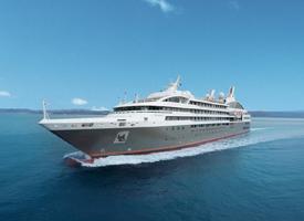 Морской круизный лайнер L'Austral