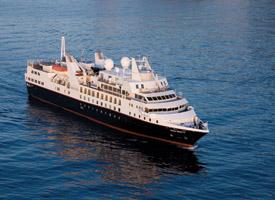 Морской круизный лайнер Silver Explorer
