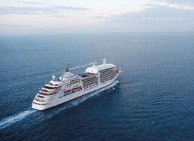 Морской круизный лайнер Silver Spirit