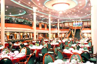 Морской круизный лайнер Grandeur Of The Seas (Royal Caribbean International)