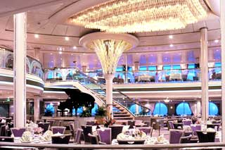 Морской круизный лайнер Rhapsody Of The Seas (Royal Caribbean International)