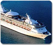 Морской круизный лайнер Vision Of The Seas