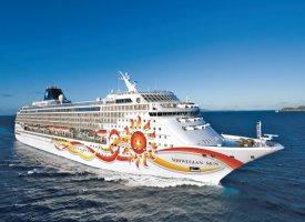 Морской круизный лайнер Norwegian Sun