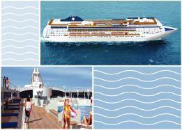 Морской круизный лайнер Opera