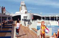 Морской круизный лайнер Opera (MSC Cruises)